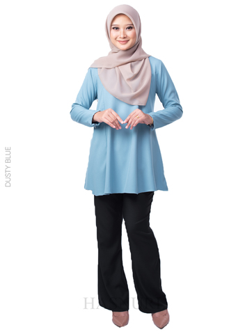 MINI DOLL BLOUSE LABUH DUSTY BLUE.jpg