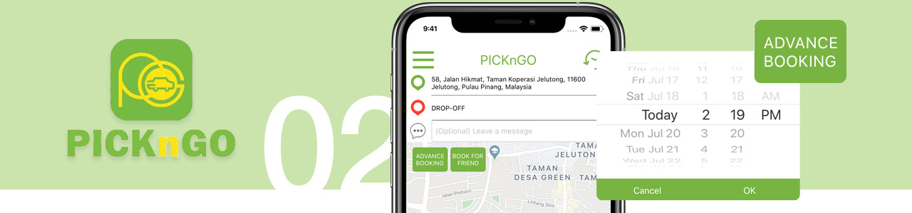 PicknGO - Advance Booking