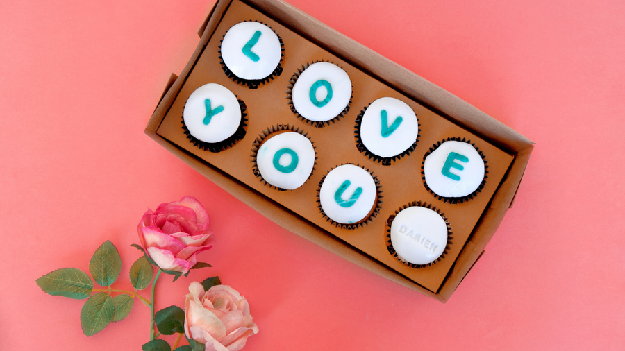 The Gift Box Confections   LOVE YOU