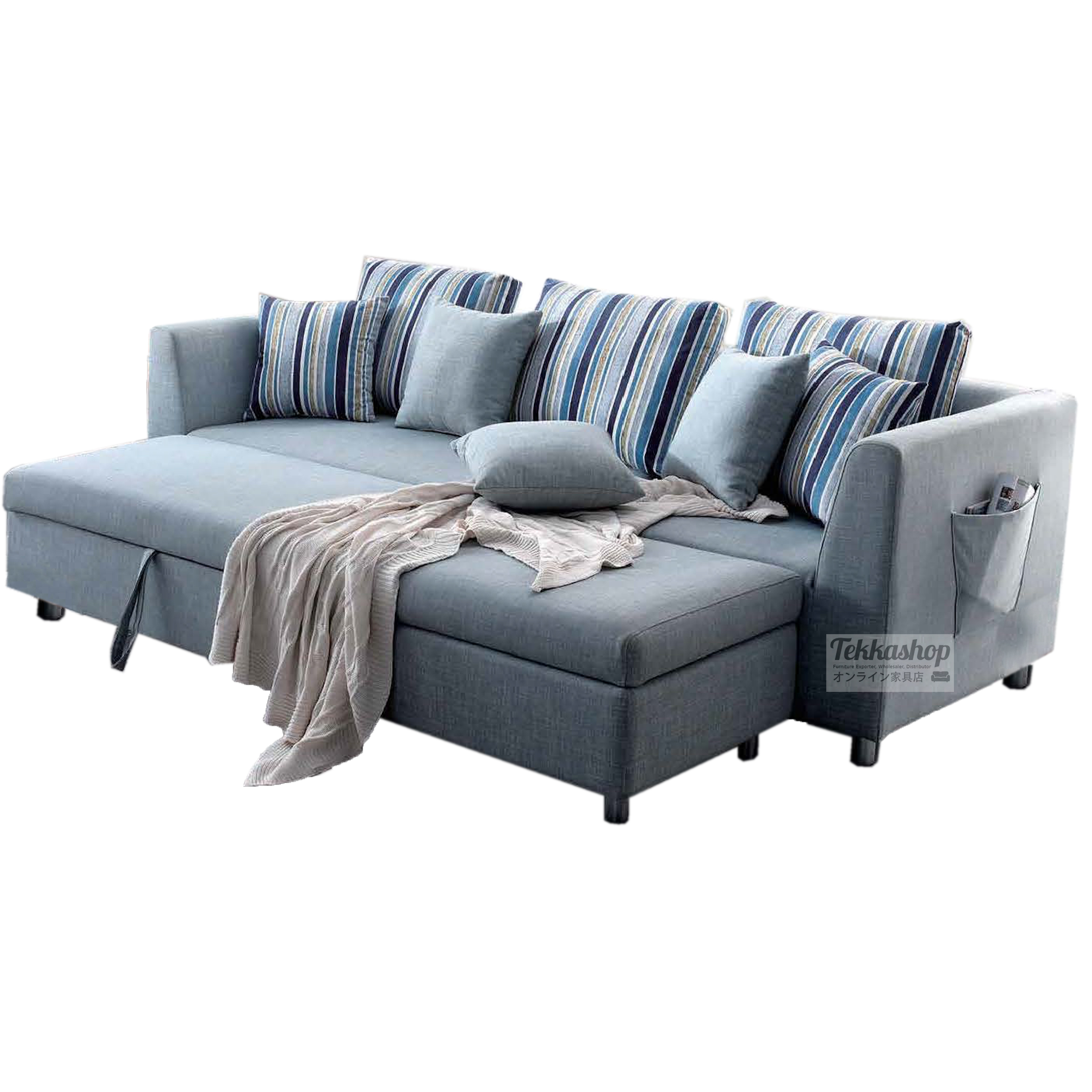Tekkashop Gsfb07 Multi Function Sofa Bed With Storage And Movable