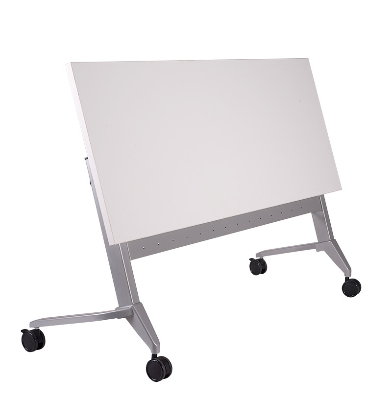 Tekkashop Axis TKCL Heavy Duty Foldable White Training Table - Foldable training table