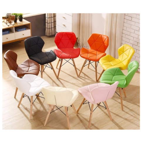 DorNordic Modern Design Eames Chair with Leather Cushion Seat  Solid Wood Leg-main-5.png