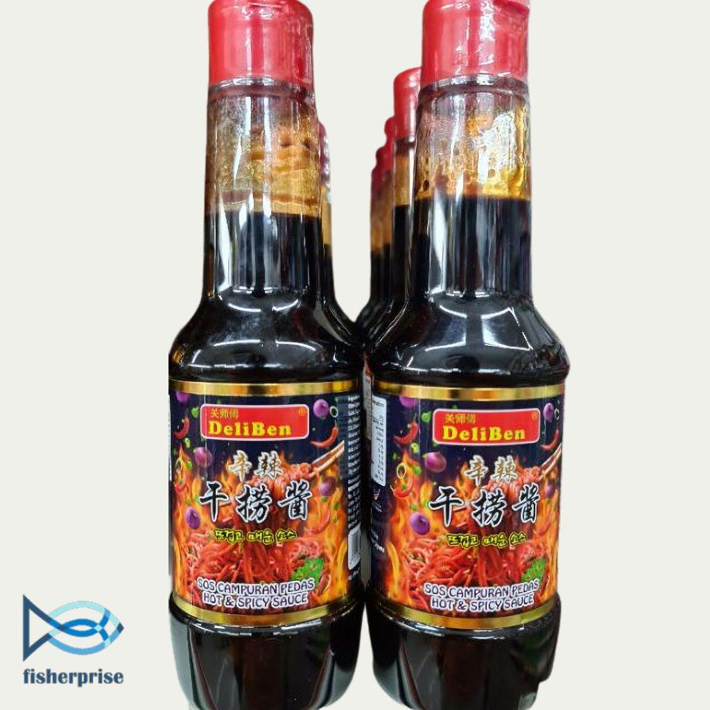 DeliBen Hot & Spicy Sauce 辛辣干捞酱 (360g).jpg