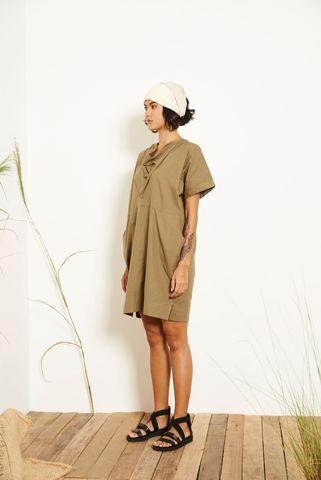 Kio_Drape_Dress_Green_2