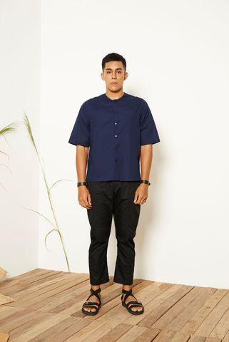 Wes_Mandarin_Shirt_Blue_1