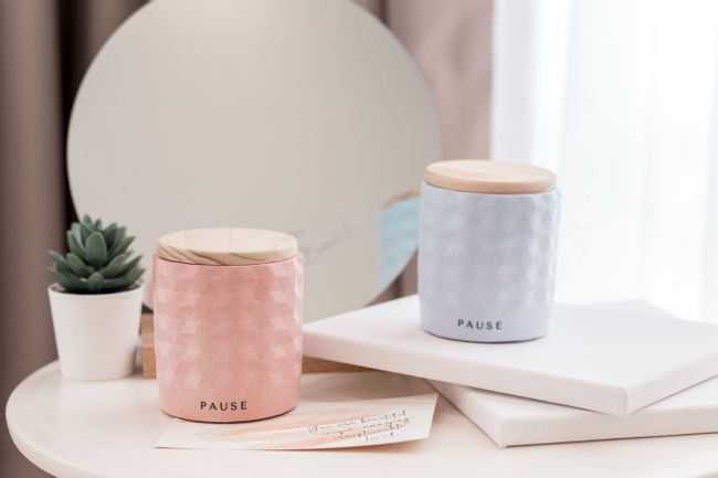 PAUSE soap & candle |  - THE RUSTIC