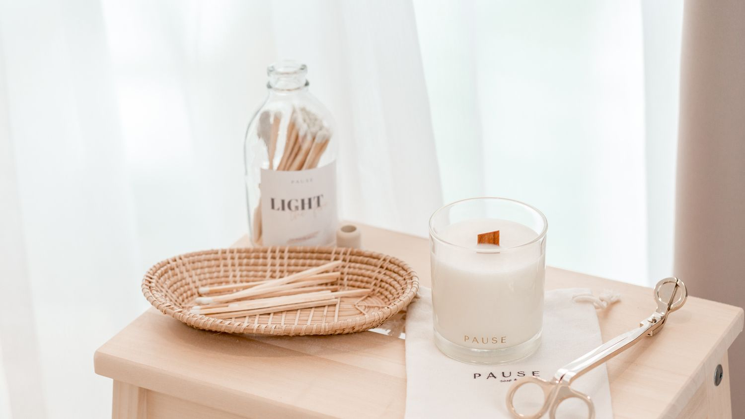 PAUSE soap & candle | THE CLASSIC