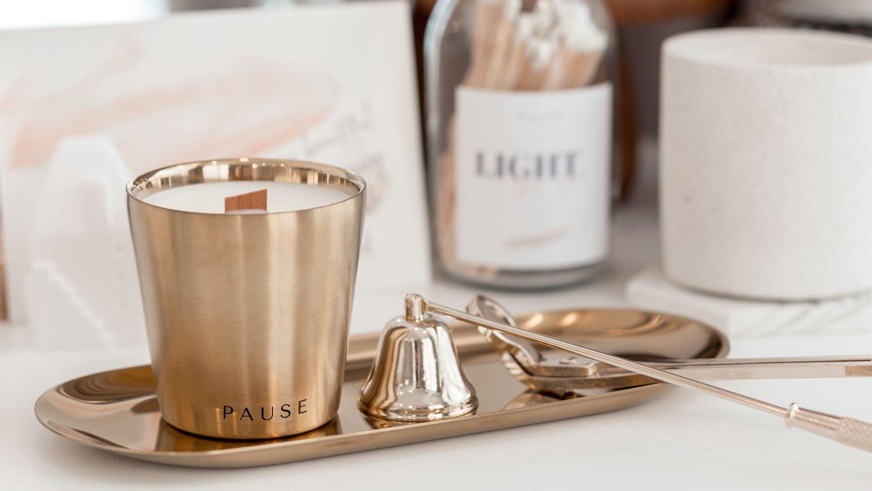 PAUSE soap & candle | Simple Aurum