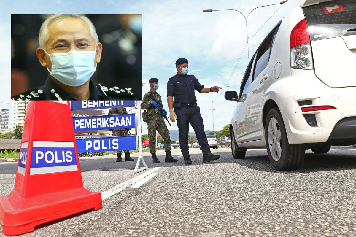 Conditional MCO Day 1: 93 roadblocks set up in Klang Valley, says Deputy IGP