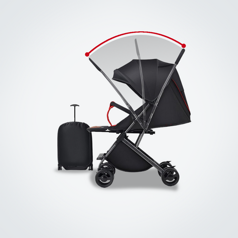 Mamaland Two Way stroller - black.png
