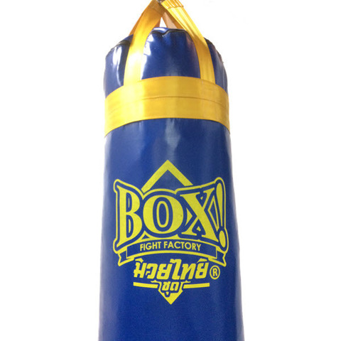 BOX!-MuayThai-serie_Punching Bag_6-feet_BLUE-Yellow-strap2.JPG
