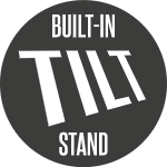 Built in tilt stand / PA Pole