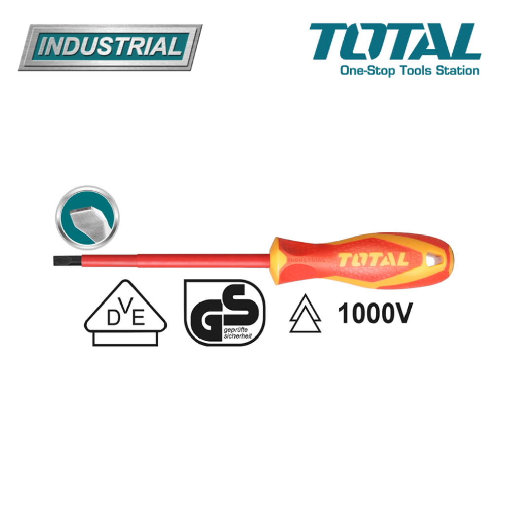 industrial TOTAL INSULATED SCREWDRIVER 1000V 5.5 X 125 (THTIS5125) .png