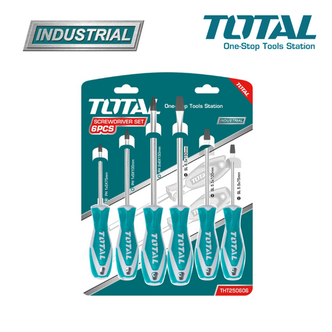 TOTAL 6pc Slotted Screwdriver Set.png