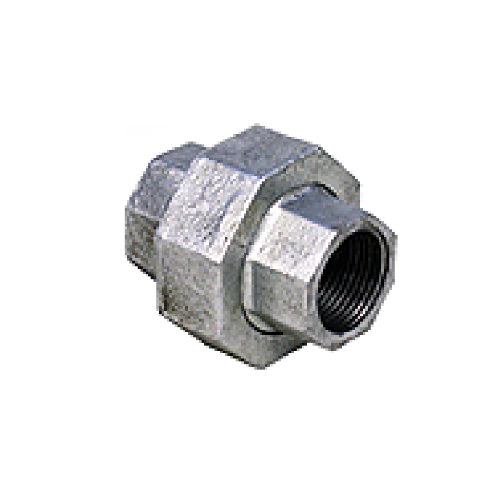 Galvanized Iron Gi Fittings Union 1 4 6