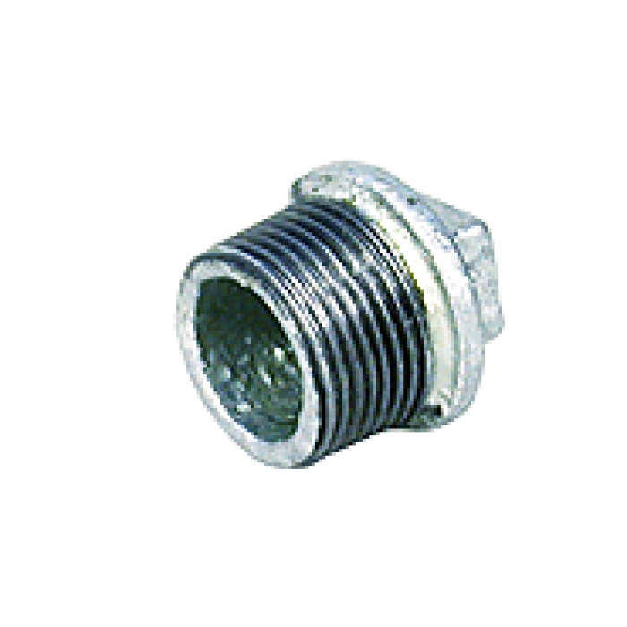 Galvanized Iron Gi Fittings Plug 1 4 6