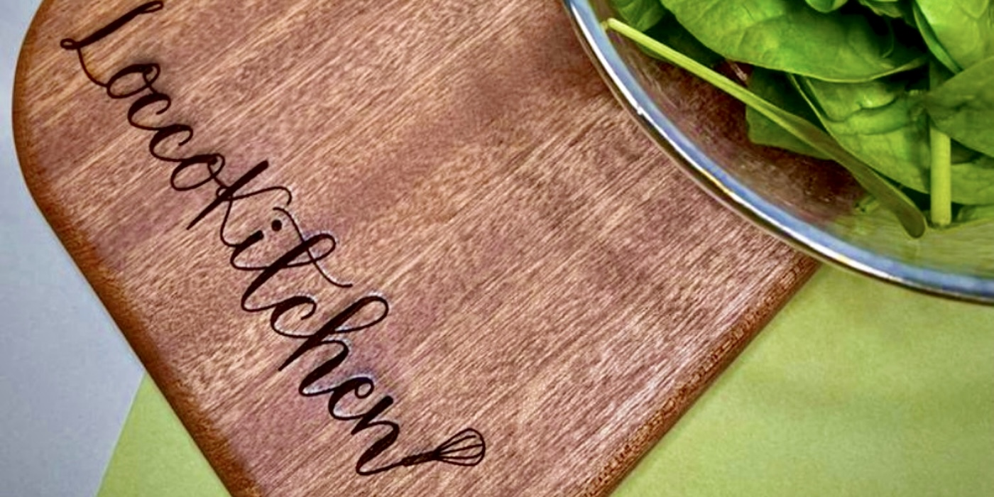 The Chic Habitat | Personalized Serving Board