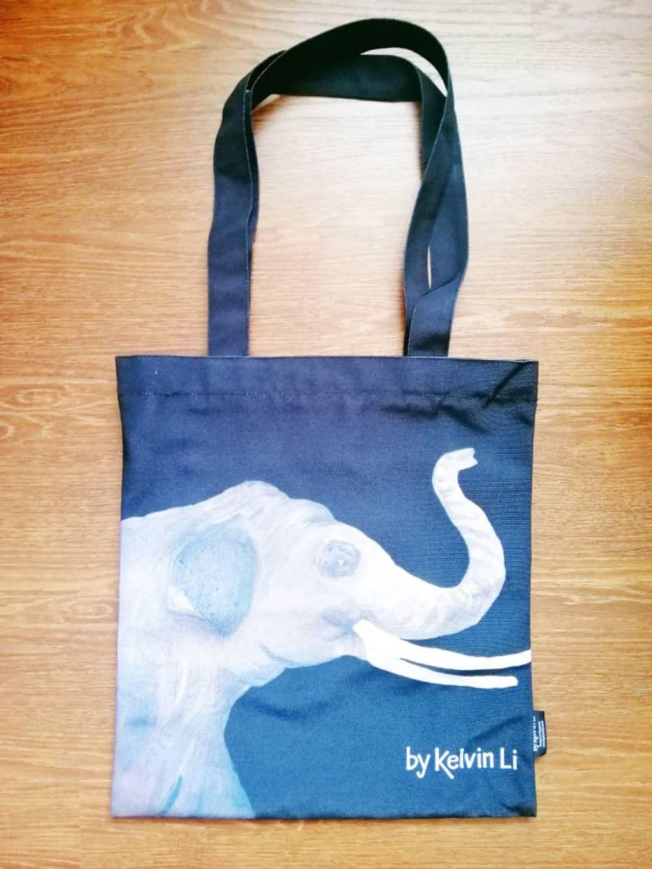 The Recycle Bag by Kelvin Li - 环保袋 Elephant  大象.jpeg