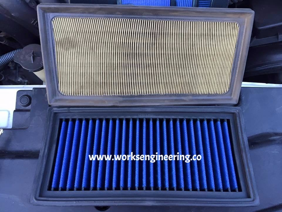 Works Air Filter - Perodua Myvi 1 3/1 5 Dual VVT-i 2017-on