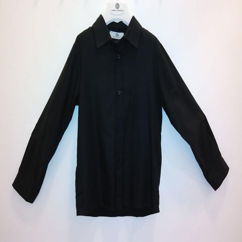 Young Versace - Boys Long Sleeve Shirt with Brand Embroidered 1181.JPG