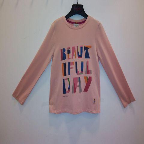 Paul Smith Junior - Girls Long Sleeve Tshirt - Peach 1136.JPG