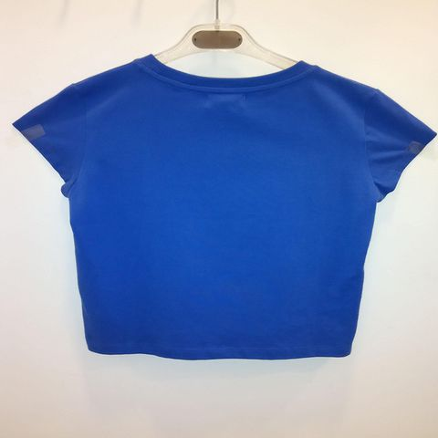 Moschino Teen - Girls Short Sleeve Tshirt - Blue 2120.JPG