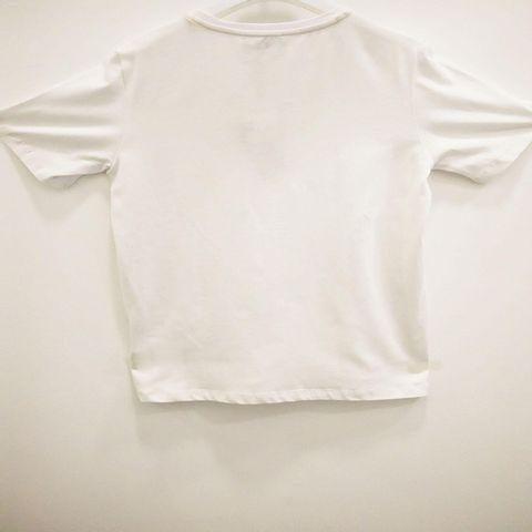 Roberto Cavalli - Brand Name Print Tshirt - White 2147.JPG