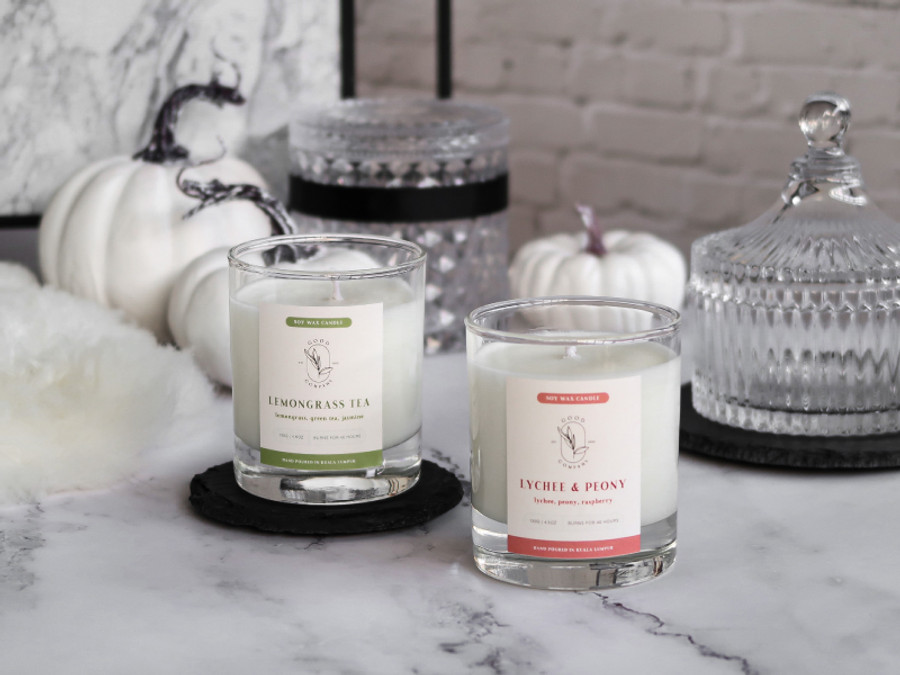 Good Company Candles - Premium Hand-Poured Soy Candles | Luxury Phthalate-Free Scents