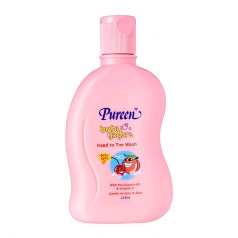 Pureen Baby Yogurt Wash x250ml(PeaCherry).jpg
