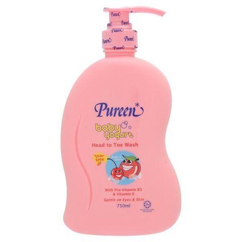 Pureen Baby Yogurt Wash x750ml(PeaCherry).jpg