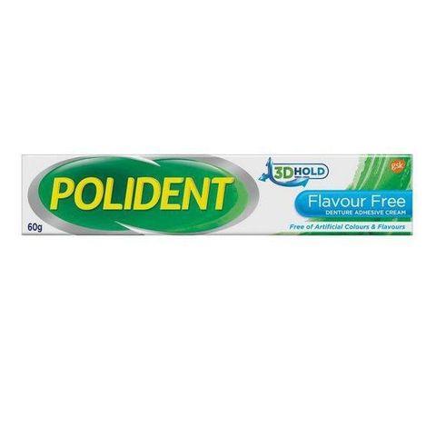 Polident Adhesive Cream Tube x60g(FlavourFree).jpg