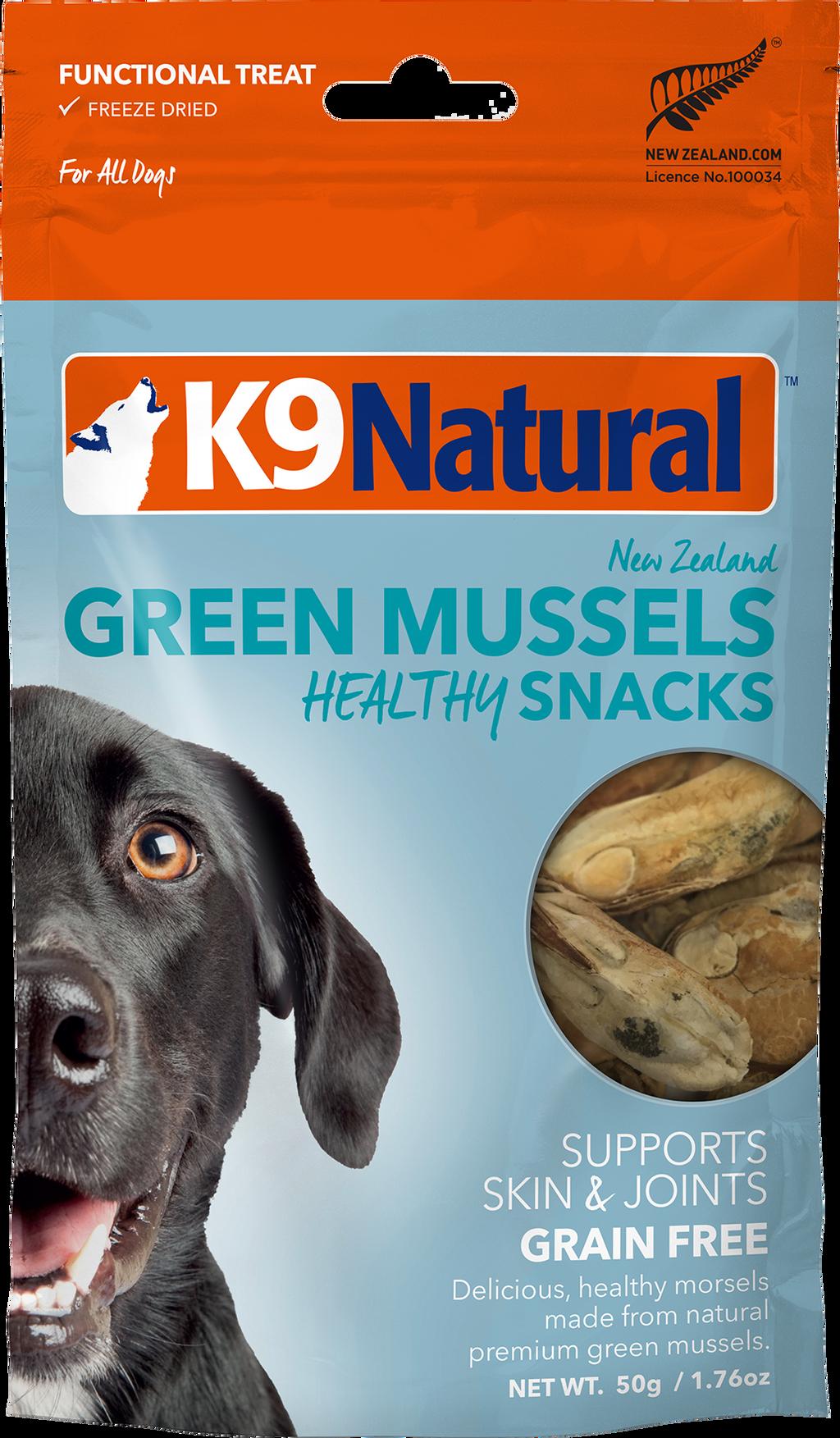 K9 Natural Green Mussel Snack 50g FV .png