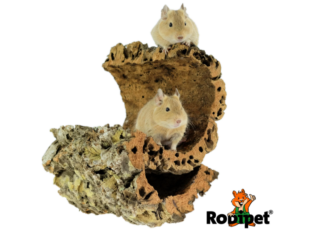 Rodipet® Cork Tunnel size M – ca 20 cm long and 8-12 cm in Diameter -1.png