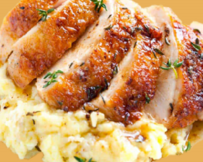 Chicken with mashed potato gravy.png