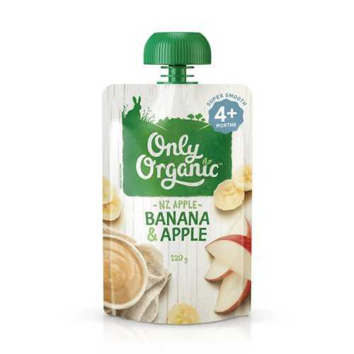 Only Organic Banana & Apple Smoothie 120g