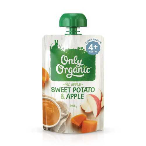 Only Organic Sweet Potato and Apple Smoothie 120g
