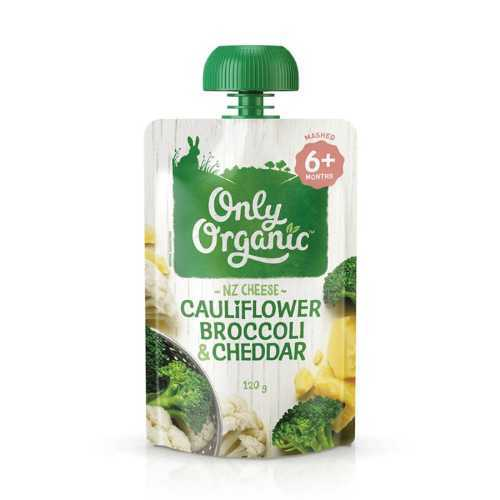 Only Organic Cauliflower Broccoli & Cheddar Smoothie 120g