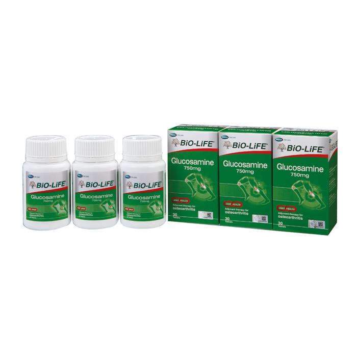 BiO-LiFE Glucosamine 750mg