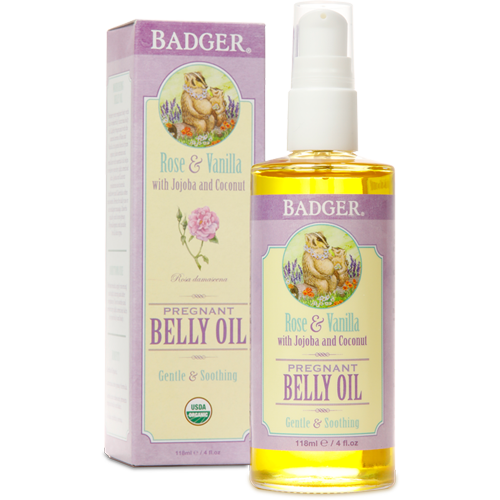 Badger Organic Pregnant Belly Oil (4oz)