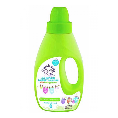Cherub Rubs Laundry Solution Eucalyptus 1 litre
