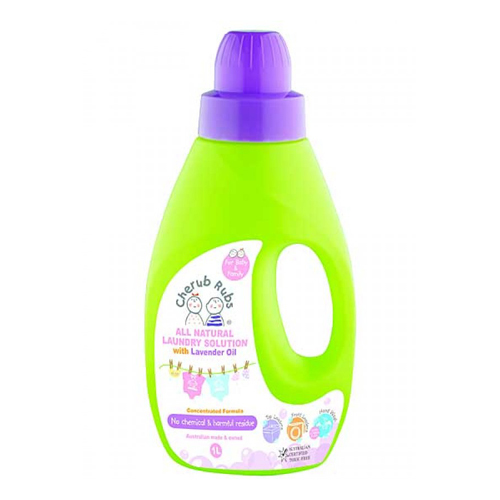 Cherub Rubs Laundry Solution Lavender 1 litre