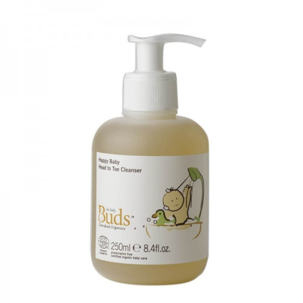 Buds Cherished Organics Happy Baby Head To Toe Cleanser (250ml)