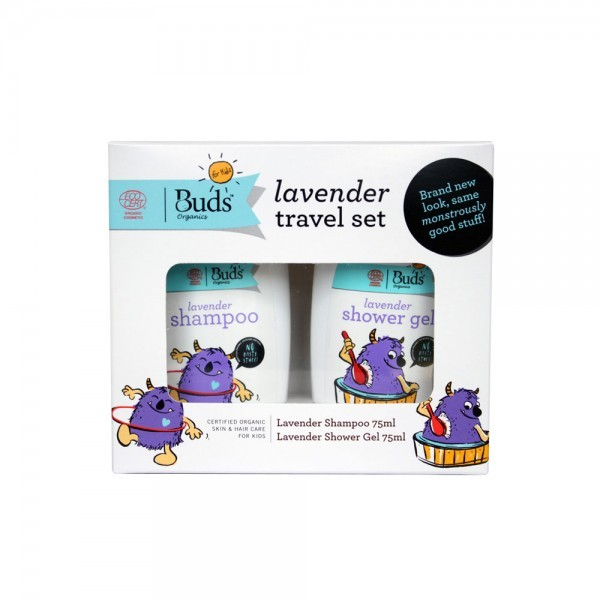 Buds Organics Lavender Travel Set