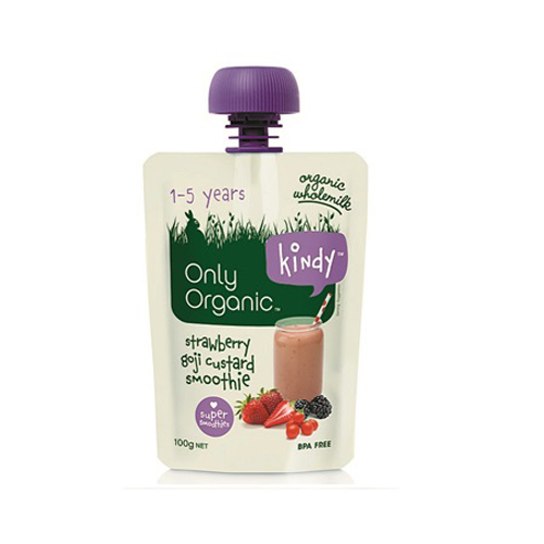 Only Organic Coconut Strawberry & Goji Smoothie 100g