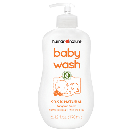 Human Nature Tangerine Dream Baby Wash 190ml