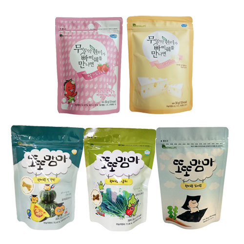 Renewallife Gluten Free Korean Snacks Patissier (5 packs)
