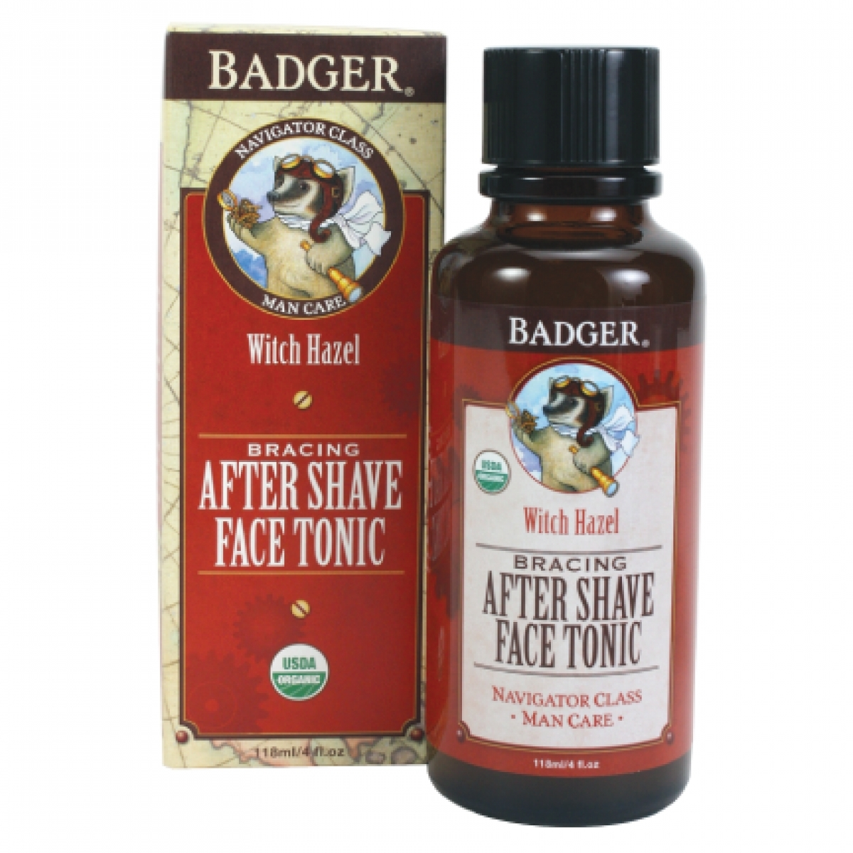 Badger After Shave Face Tonic (4oz)