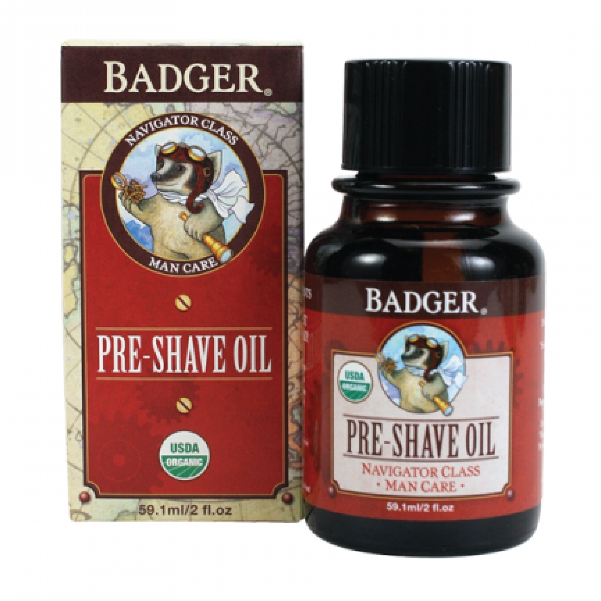 Badger Pre-Shave Oil (2oz)