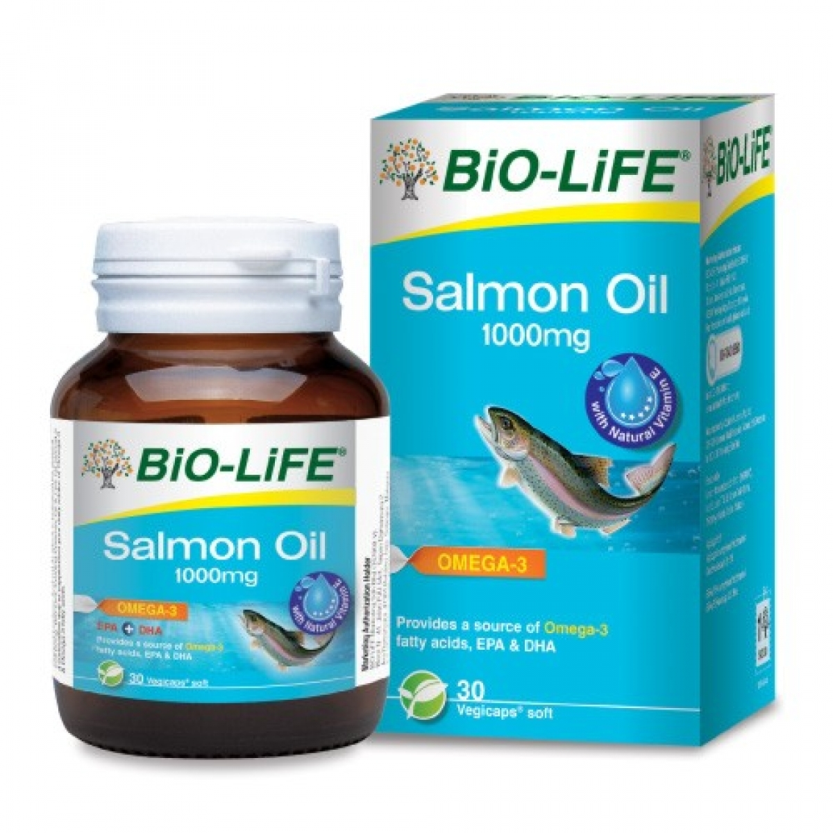 BiO-LiFE Salmon Oil 1000mg