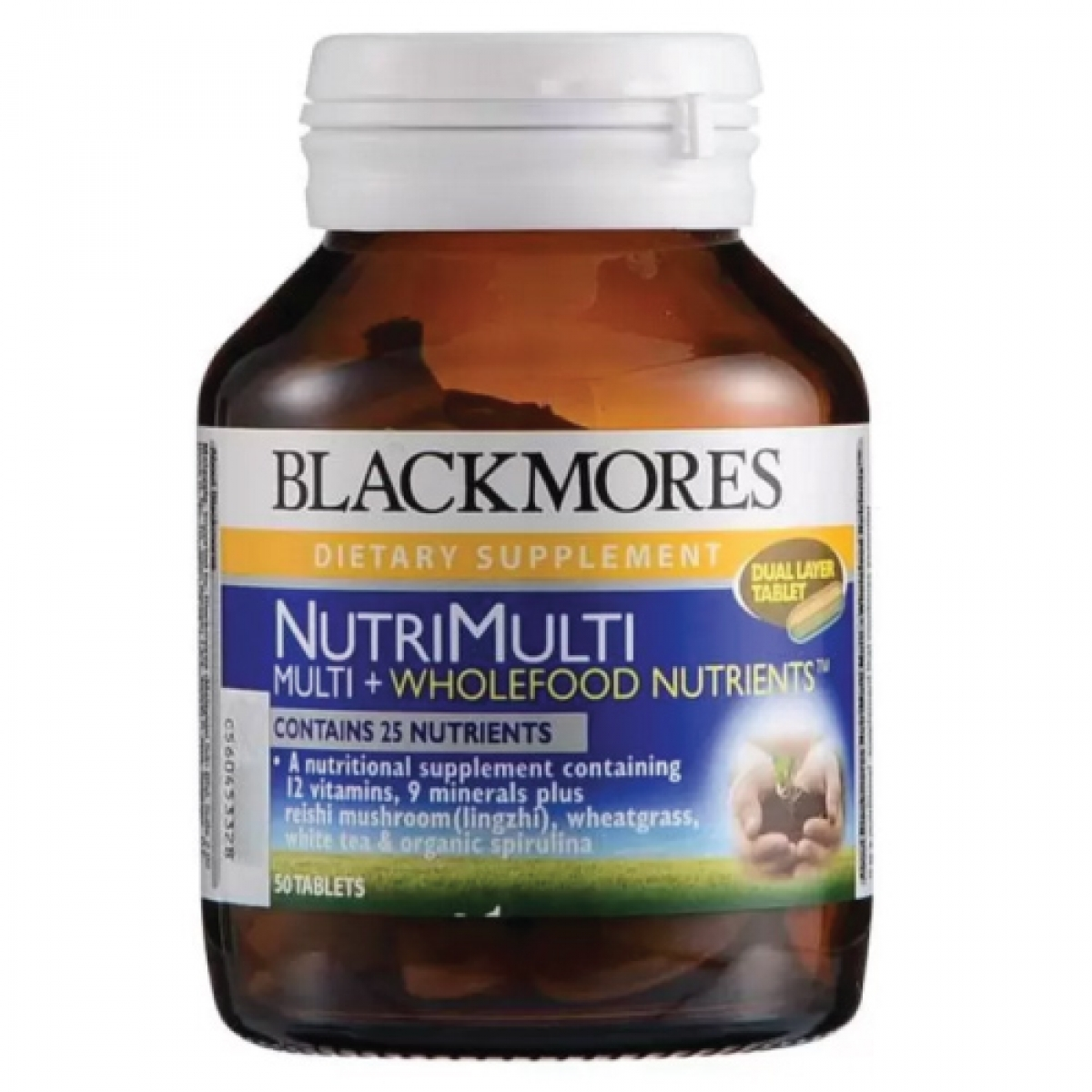 Blackmores NutriMulti Multi + Wholefoods Nutrients™